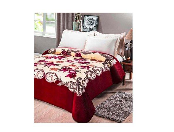 Cobertor Jolitex Casal Kyor macio Plus 1,80x2,20 Chamonix