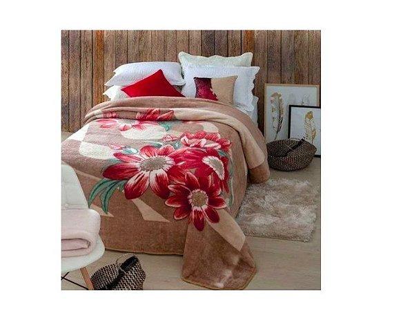 Cobertor Jolitex Casal Kyor macio Plus 1,80x2,20 Perugia