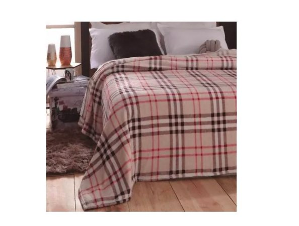Cobertor Jolitex Dyuri Pelo alto quente Casal Macio Burrbery