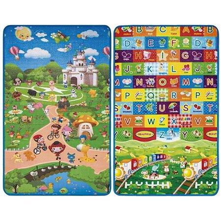 Tapete Infantil Dupla Face Isolante Térmico alfabeto Play