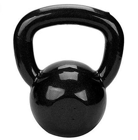 Ketlebel Emborrachado 20 Kgs Pesos Musculação Halter Fitness
