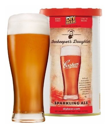 Beer Kit Coopers Innkeeper Daughter Sparkling Ale - 23l