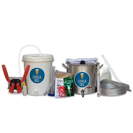 Kit BIAB Cerveja Fácil 10 litros com arrolhador