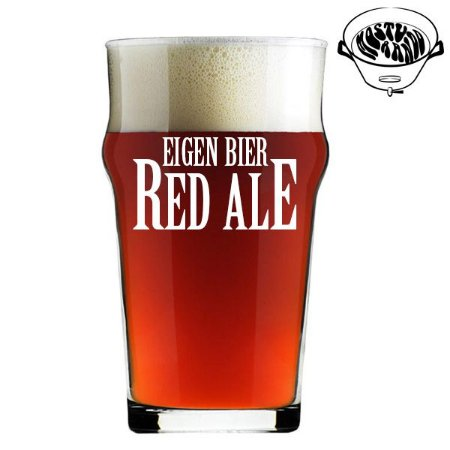 Kit Receita Canal Mosturando Eigen Bier Red Ale - 20 litros