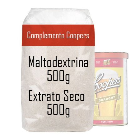 Kit Complemento Coopers - DME + Maltodextrina (500g de cada)