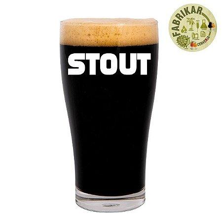 Kit Receita Fabrikar Cerveja Stout - 5 litros