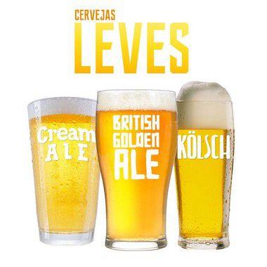 Kit de Receitas - Cervejas Leves - 20l
