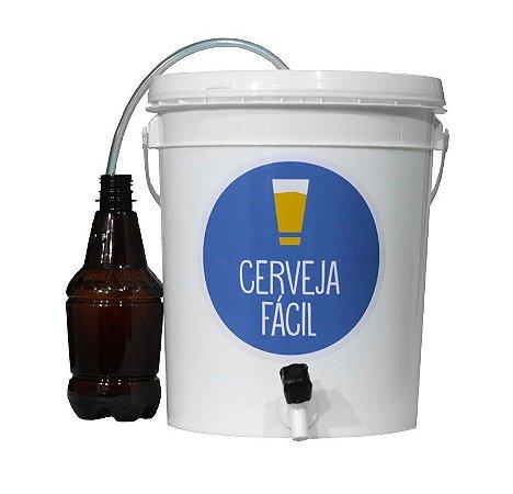 Balde Fermentador 8 litros com mangueira Blowoff