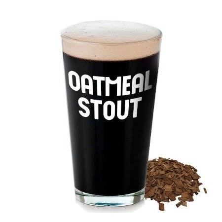Kit Receita Cerveja Oatmeal Stout com Carvalho - 20L