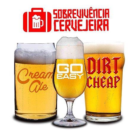 Kit Sobrevivência Cerveja Fácil 5 litros