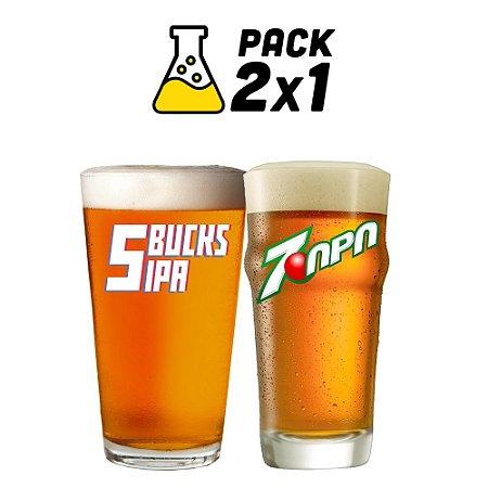 Kit Cerveja Facil 2x1 7-APA e 5-Bucks 20 litros