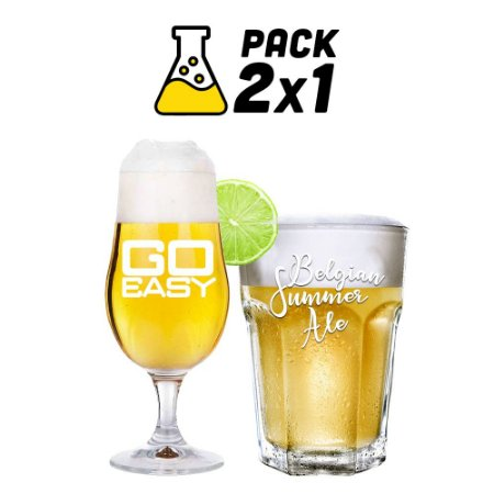 Kit Cerveja Facil 2x1 Go Easy e Belgian Summer 10 litros