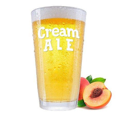 Kit Receita Cerveja Cream Ale com Pêssego - 10L