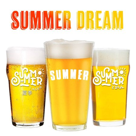 Pack Summer Dream Cerveja Facil - 3x20 litros