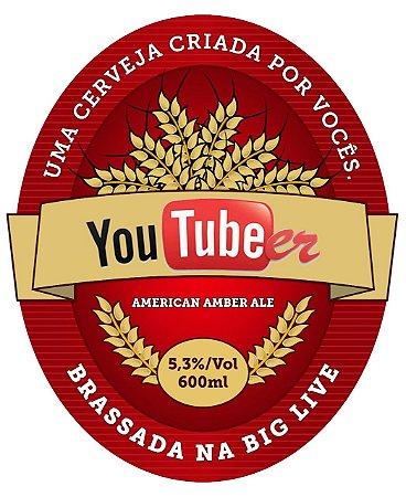 Kit Receita Canal Mosturando Youtubeer American Amber Ale - 10 litros