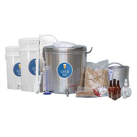 Kit BIAB Cerveja Fácil 20 litros Advanced com Garrafa PET