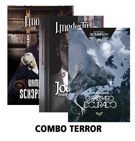 COMBO TERROR - Diversos Autores