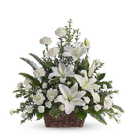 Arranjos Para Funeralflores Cemiteriofloricultura Veloriocoroa De