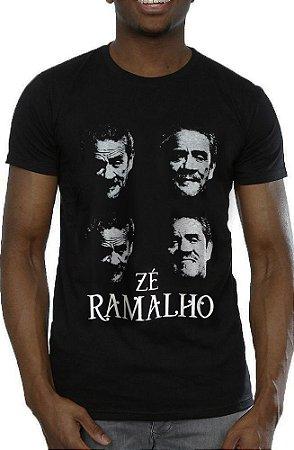 Camiseta Zé Ramalho Preta
