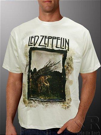 Camiseta Led Zeppelin IV Off White
