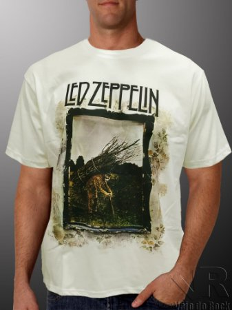Camiseta Led Zeppelin IV Off White