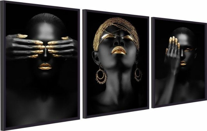 BLACK WOMEN GOLD