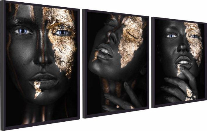 BLACK WOMEN GOLD 2