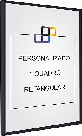 PERSONALIZADO - 1 QUADRO RETANGULAR