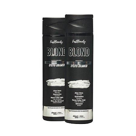 Kit BLOND! Branco - Shampoo e Condicionador