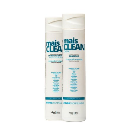 Kit Mais CLEAN Caspa - Shampoo e Condicionador