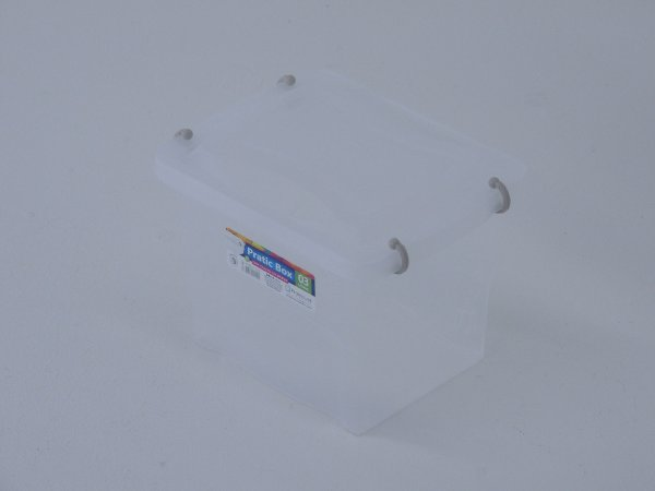 Caixa organizadora PRATIC BOX 3 litros. [Polipropileno]