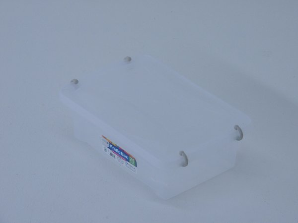 Caixa organizadora PRATIC BOX 2,5 litros. [Polipropileno]