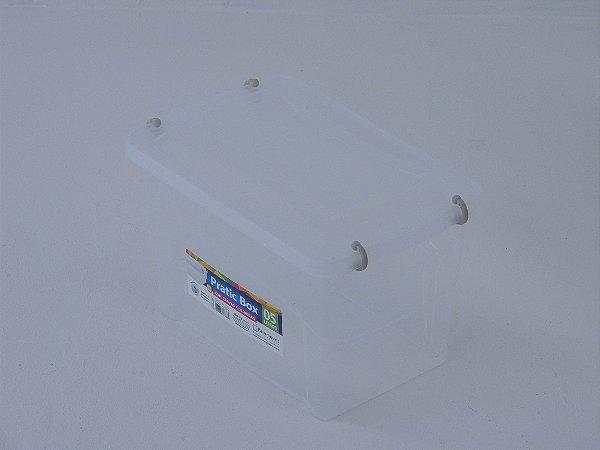 Caixa organizadora PRATIC BOX 5 litros. [Polipropileno]