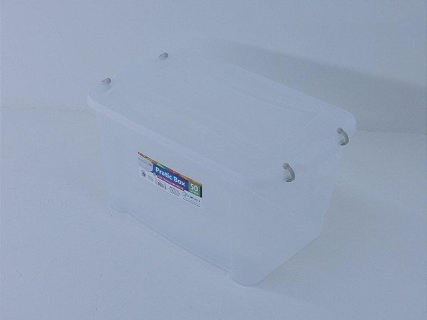 Caixa organizadora PRATIC BOX 50 litros. [Polipropileno]