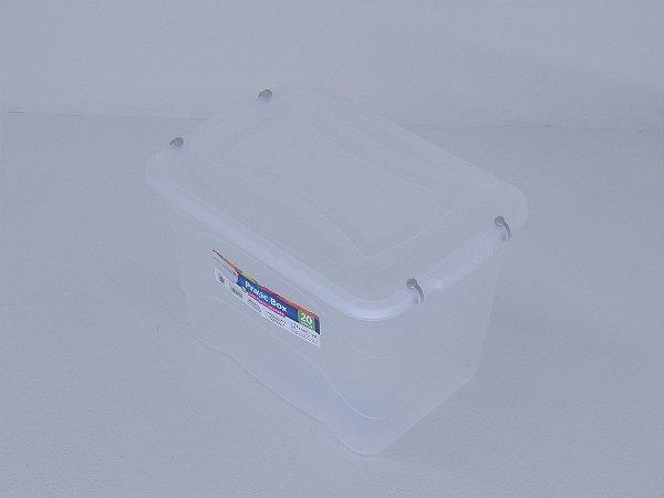 Caixa organizadora PRATIC BOX 20 litros. [Polipropileno]