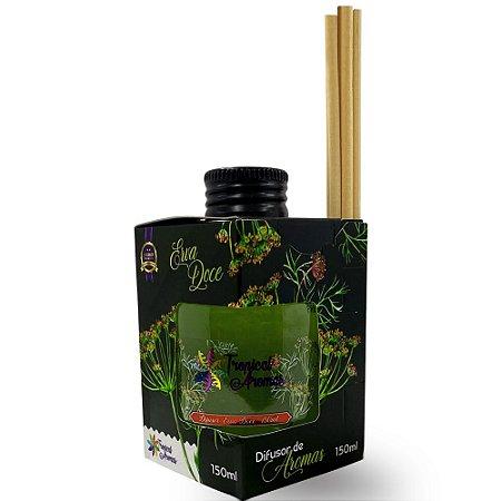 Difusor Caixinha Black Erva Doce 150ml - Tropical Aromas