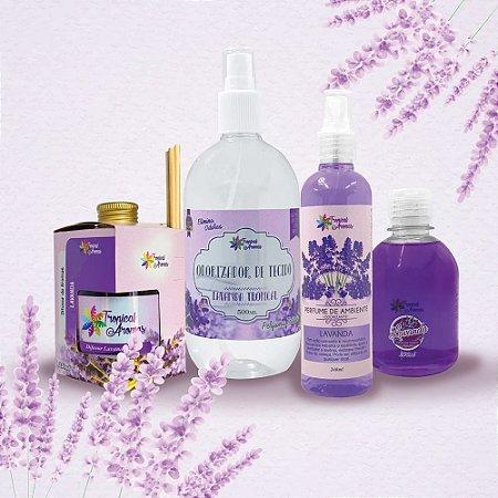 Kit Aromas Lavanda - Tropical Aromas