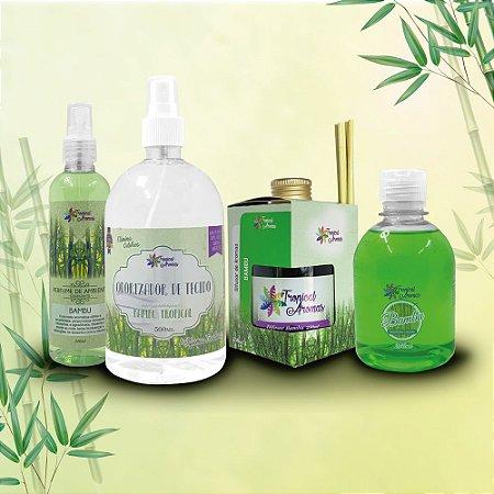 Kit Aromas Bambu - Tropical Aromas