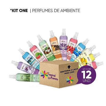 Perfume de Ambiente KIT REVENDA 12 Unidades - Tropical Aromas