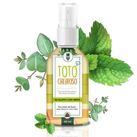 Bloqueador de Odores Sanitários Totô Cheiroso Eucalipto com Menta 60ml - Tropical Aromas