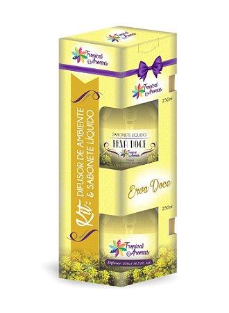 Kit difusor e sabonete líquido Erva Doce 250ml - Tropical Aromas