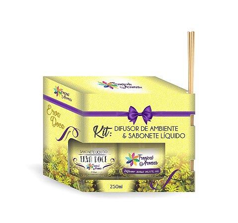 Kit Refil difusor e sabonete líquido Erva Doce 250ml - Tropical Aromas