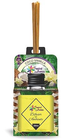 Difusor Aromas do Brasil Coco Vanilla 300ml - Tropical Aromas