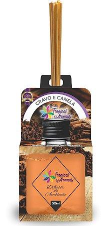 Difusor Aromas do Brasil Cravo e Canela 300ml - Tropical Aromas