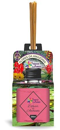 Difusor do Brasil Flores da Amazônia 300ml - Tropical Aromas