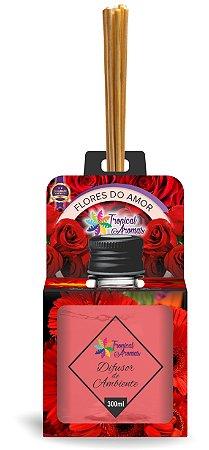 Difusor Aromas do Brasil Flores do Amor 300ml - Tropical Aromas