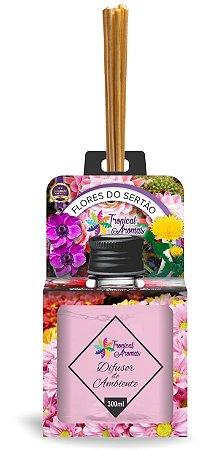 Difusor Aromas do Brasil Flores do Sertão 300ml - Tropical Aromas