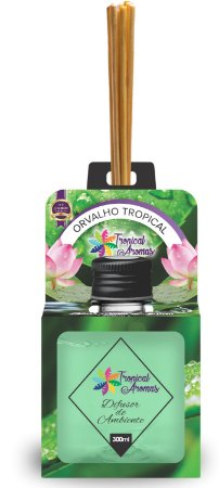 Difusor Aromas do Brasil Orvalho Tropical 300ml - Tropical Aromas