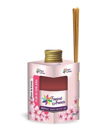 Difusor Caixinha Flor de Cerejeira 250ml - Tropical Aromas