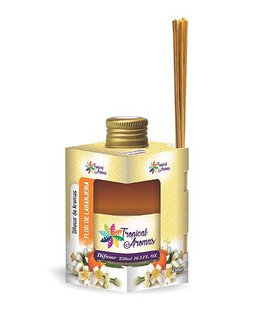 Difusor Caixinha Flor de Laranjeira 250ml - Tropical Aromas